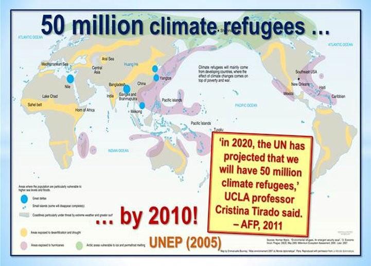 50 miljoner klimatflyktingar 2005