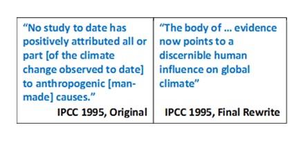 IPCC rewrite