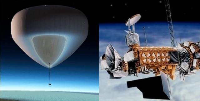Radiosond och satellit 2