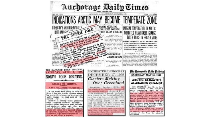 Smältlarm 1900-talet ny