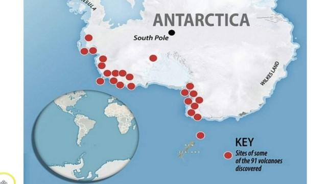 Vulkaner, Västra Antarktis