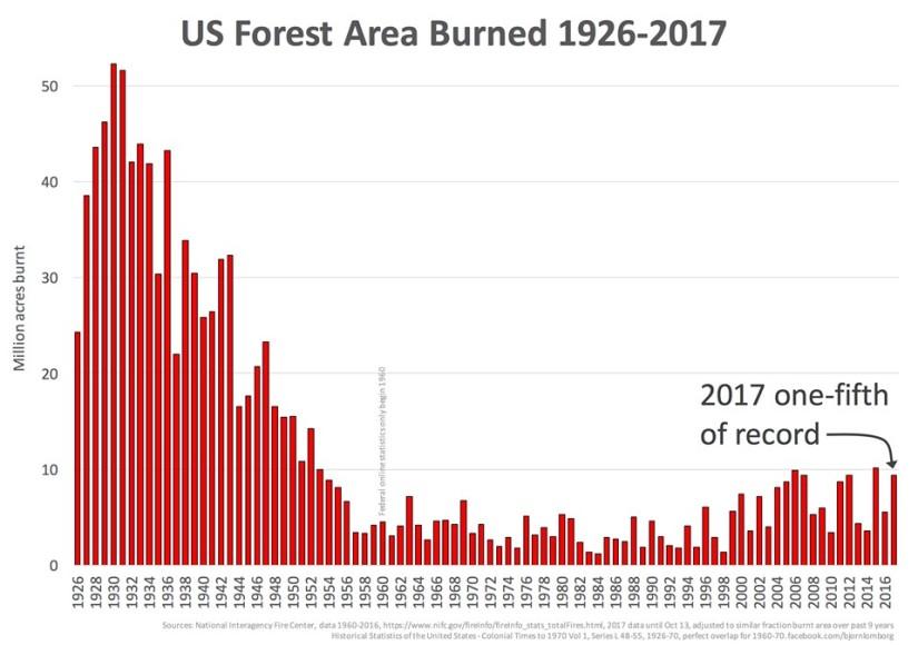 Skogsbränder